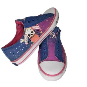 Ed Hardy Love Kills Slowly Sneakers Size 8